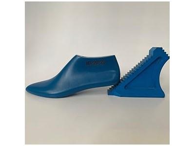 低帮女士皮鞋楦头 时尚中跟小皮鞋楦 定制鞋楦设计