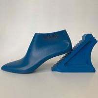 一字带凉鞋楦头 圆头低帮罗马鞋楦头 高跟凉鞋楦子