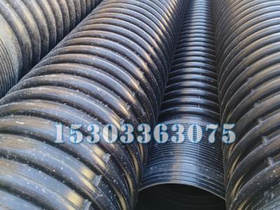 HDPE大口径排水管 300/400/500排污管价格