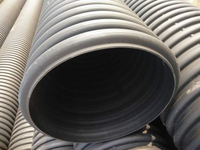 HDPE排水管 大口径排污管 DN500波纹管 螺纹下水管