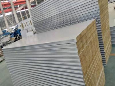 南通翔展供应高品质岩棉复合板 彩钢岩棉夹芯板