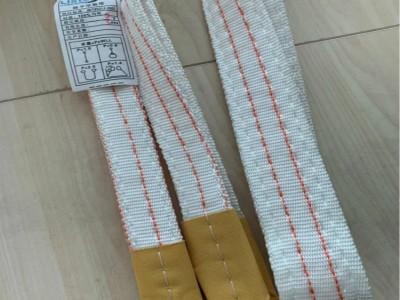 廉价白色扁平吊装带 3吨5米吊带材质