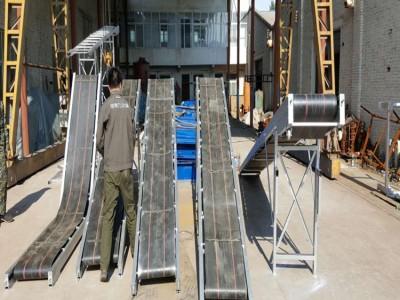 小型家用220v装车皮带机 车载折叠皮带机 4米皮带输送机