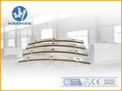 铜导槽 配件 ZCuSn10P1材质铜滑板 金属型铸造工艺