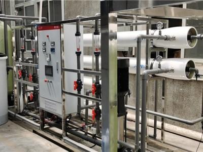 水刺无纺布机械用水设备/常熟超纯水设备/水刺驻极水处理设备