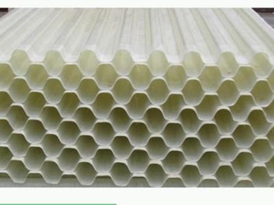 供应丹东冷却塔环保填料六角蜂窝斜管填料生产厂家