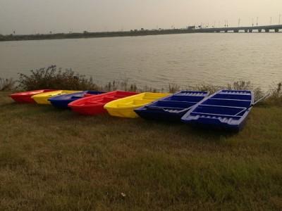 长沙塑胶打鱼船塑料养殖船4.1米渔船厂家直销牛筋塑料钓鱼船