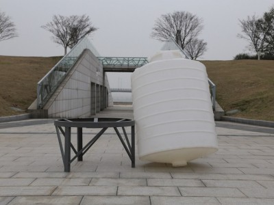 30000L水箱 水处理厂专用30吨锥底水塔 PE塑料水箱