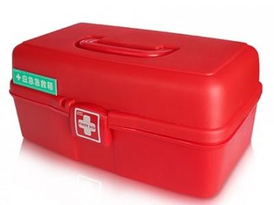急救箱(蓝夫LF-12808)三层折叠多功能车载家用急救箱