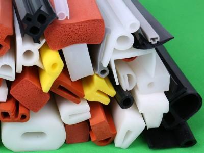 供应发泡硅胶条 硅胶异型条 彩色异型条 三元乙丙发泡密封胶条