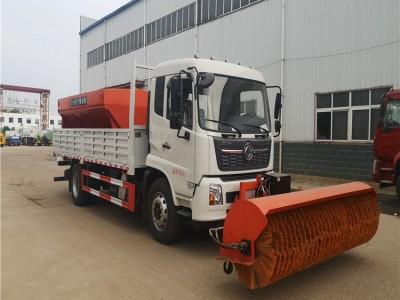 供应保定东风天锦国六多功能新型除雪车 除雪设备