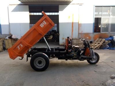 西安2吨柴油矿井用三轮运输车自卸款