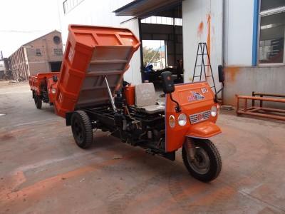 建筑工地混凝土专用柴油工程三轮车自卸款
