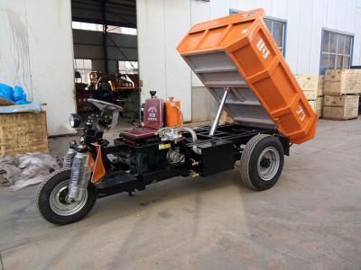 河南22马力定制柴油矿用三轮车多少钱价格