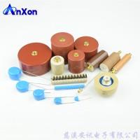 安讯CT8G系列螺栓型圆柱体螺母端子超高压陶瓷电容器