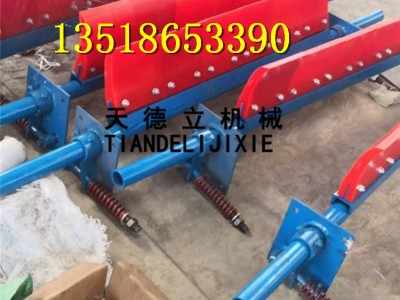 H型P型聚氨酯清扫器 输送机刮板式清扫器