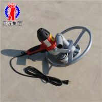 巨匠供应便捷式电动打井机1200w家用水井钻机手持式小型打井