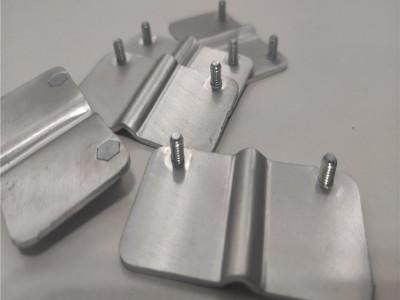 机械设备接地铝排 电池导电软连接片厂家非标定制