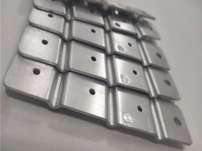 自动化设备加工定制铝件 电池铝导电软连接片