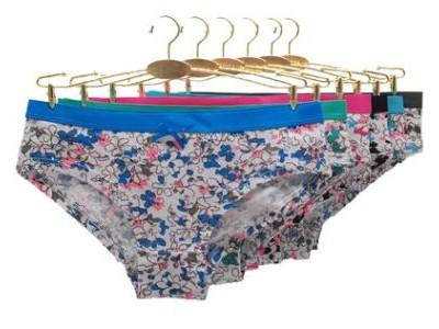 厂家外贸女士内裤南美印花短裤棉女式三角裤内裤panties