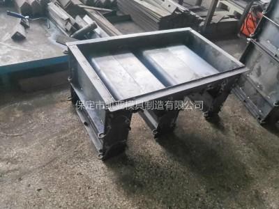 供应u型槽钢模具 预制水泥u型槽模具 凯亚模具厂家