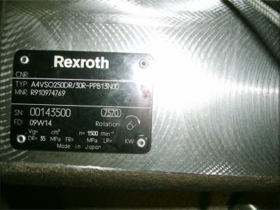 力士乐柱塞泵A4VSO250DR 30R-PPB13N00