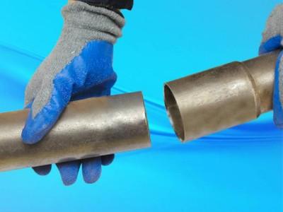 湖北鸿资管道现货批发套筒式声测管桩基声测管加工定做样品