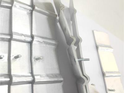 焊接加工软铝排 变压器安装铝软连接 电池组软铝巴