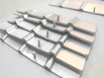 新能源铝导电体厂家焊接加工铝巴 铝箔软连接 软铝排