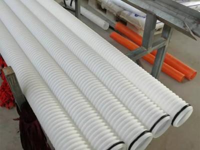 厂家直销HDPE材质小口径双壁波纹管 长期生产
