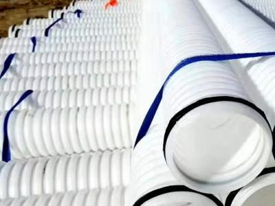 HDPE波纹管直径90mm电线穿线管 榆林市厂家库存发货