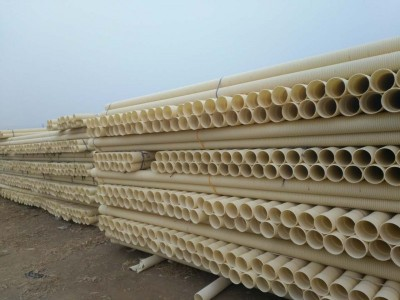 315mm直径PVC波纹排水管 榆林市厂家库存发货